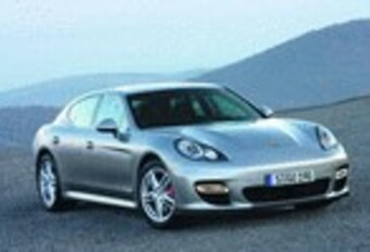 Porsche Panamera Turbo #1