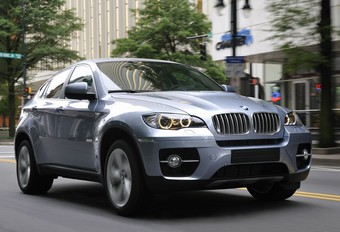 BMW ActiveHybrid X6  #1