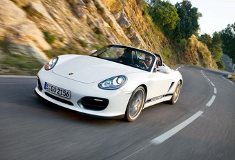Porsche Boxster Spyder  #1