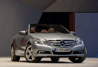 Mercedes Classe E Cabriolet  #1