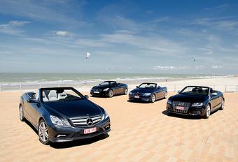 Audi S5 Cabriolet, BMW 335i Cabriolet, Infiniti G37 Convertible & Mercedes E 350 CGI Cabriolet : L'agent perturbateur #1