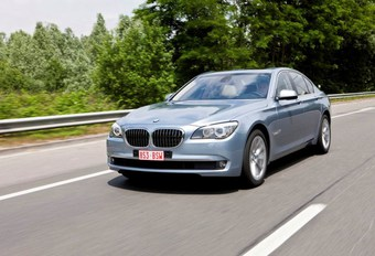 BMW ActiveHybrid 7 #1