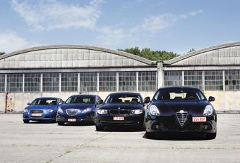 Audi A3 Sportback 1.6 TDI, Lancia Delta 1.6 MJET, BMW 116d et Alfa Giulietta 1.6 JTDM : Vendetta #1