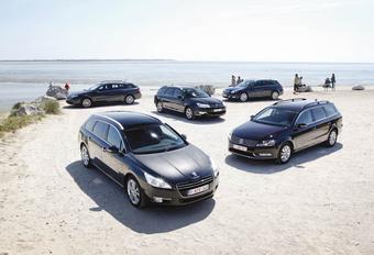 Citroën C5 Tourer - Opel Insignia Sports Tourer - Peugeot 508 SW - Renault Laguna Grandtour - Volkswagen Passat Variant : Rififi chez les breaks #1