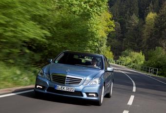 Mercedes Classe E BlueEfficiency #1