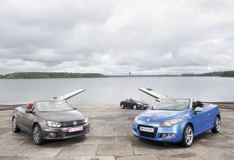 Volkswagen EOS, Peugeot 308 CC et Renault Mégane Coupé-Cabriolet : L'empire du soleil #1