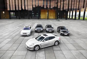 Audi A8 3.0 TDI Quattro, BMW 730d, Jaguar XJ 3.0D, Mercedes S 350 BlueTec et Porsche Panamera Diesel : Le CO2 des CEO #1
