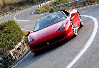 Ferrari 458 Spider #1