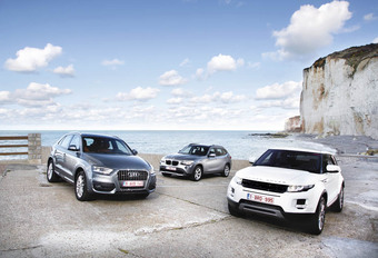 Audi Q3, BMW X1 & Range Rover Evoque : Downsizing #1