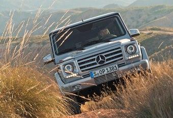 Mercedes G #1