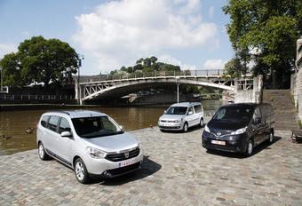 Dacia Lodgy 1.5 dCi 110, Nissan Evalia 1.5 dCi 110 en Volkswagen Caddy Maxi 1.6 TDI 102 : Veel voor weinig  #1
