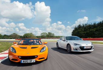 Lotus Elise S - Subaru BRZ : As contre as #1