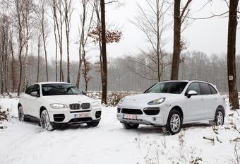 BMW X6 M50d en Porsche Cayenne S Diesel : Op één paardje na... #1