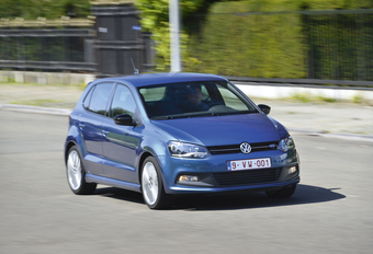 Volkswagen Polo Blue GT #1