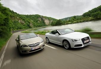 Audi A5 2.0 TDI Cabrio et Opel Cascada 2.0 CDTI : La lutte des classes #1