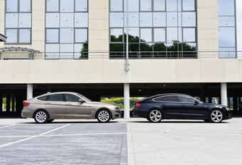 Audi A5 Sportback 2.0 TDI 177 en BMW 320d Gran Turismo : Pretbederver #1