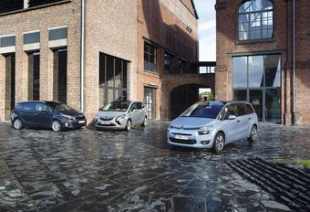 Citroën Grand C4 Picasso 1.6 e-HDi 115, Kia Carens 1.7 CRDi 136 et Opel Zafira Tourer 1.6 CDTI 136 : Les hauts potentiels #1