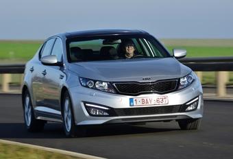 Kia Optima Hybrid #1