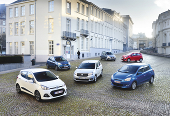 Chevrolet Spark, Dacia Sandero, Hyundai i10, Mitsubishi Space Star, Nissan Micran en Suzuki Splash : Kleintjes worden groot #1