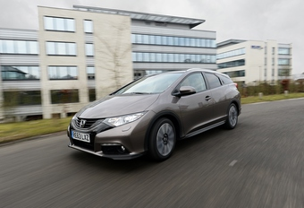 Honda Civic Tourer 1.6i-DTEC #1