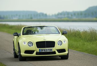 Bentley Continental GT V8 S Convertible #1