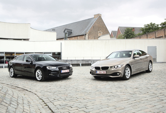 Audi A5 Sportback 2.0 TDI et BMW 418d Gran Coupé : Coupés du monde #1