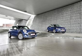 Audi A1 1.6 TDI 105 vs Mini One D : Oud & nieuw #1