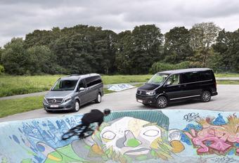 Mercedes Classe V 220 CDI vs Volkswagen Multivan 2.0 TDI 180 : Luxe & familles nombreuses #1