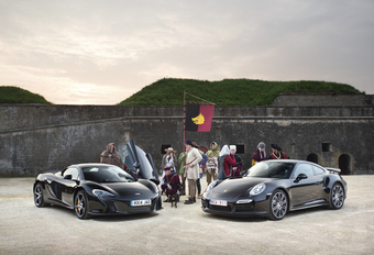 McLaren 650S Spider vs Porsche 911 Turbo : L'art de faire parler les chevaux #1