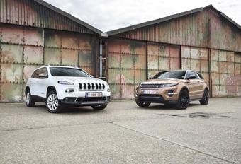 Jeep Cherokee ZF9 vs Range Rover Evoque ZF9 : De negenproef #1