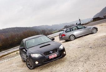 BMW 320dA xDRIVE TOURING • SUBARU LEGACY TOURING WAGON : Toenadering   #1