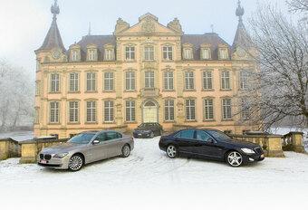 BMW 750 Li • LEXUS LS 600h L • MERCEDES S 600 L : Prestigeslag #1