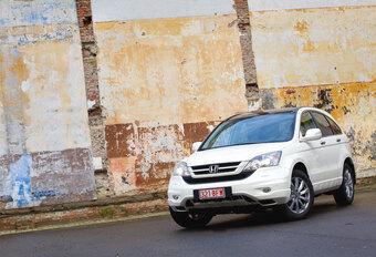 Honda CR-V 2.2 i-DTEC AUT. : Inhaalbeweging #1