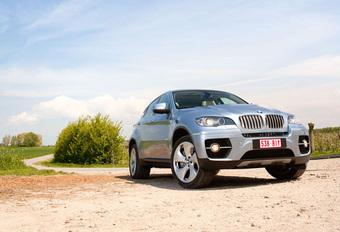 BMW X6 ACTIVEHYBRID : Bruggen bouwer #1