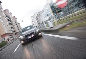 BMW 520d EFFICIENTDYNAMICS EDITION : De groene rand #1