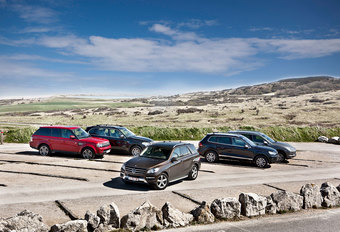 BMW X5 xDRIVE30d // MERCEDES ML 350 BLUETEC 4MATIC // PORSCHE CAYENNE DIESEL // RANGE ROVER : Intercontinental #1