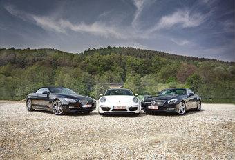 BMW 650i CABRIO // MERCEDES SL 500 // PORSCHE 911 CARRERA S CABRIO : De vraag van één miljoen #1