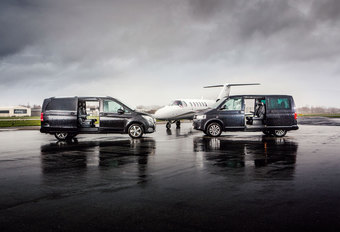 MERCEDES V 250 BLUETEC // VOLKSWAGEN MULTIVAN 2.0 TDI 4MOTION : Multitaskers #1