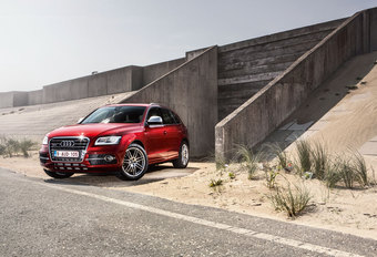 AUDI SQ5 TDI : In rock opgaan #1