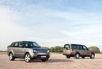 LAND ROVER DISCOVERY 4 3.0 TDV6 // RANGE ROVER SPORT V8 SUPERCHARGED : Onder de Wapens #1