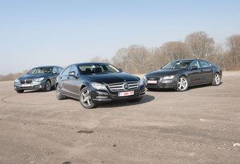 AUDI A7 3.0 TFSI • BMW 535i GT • MERCEDES CLS 350 CGI : Andere verhoudingen #1