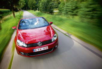 VOLKSWAGEN GOLF CABRIOLET 1.4 TSI : Oude mode #1