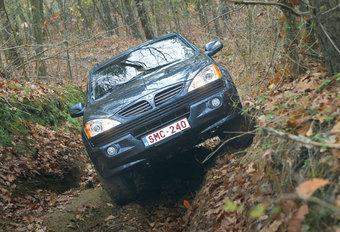 SSANGYONG KYRON M 200 Xdi 4WD : Veelbelovend debuut #1