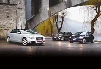 AUDI A4 2.0 TDI • BMW 318d • MERCEDES C 200 CDI : De afrekening #1