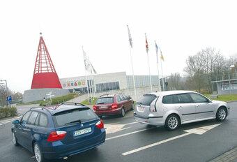 BMW 320d • JAGUAR X-TYPE 2.2D • SAAB 9-3 1.9 TiD SPORT-HATCH : Rugzak met luxelabel #1