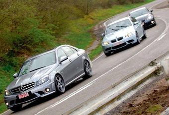 BMW M3 SEDAN • LEXUS IS F • MERCEDES C 63 AMG : Tussen hemel en hel #1