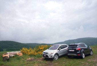 FORD KUGA 2.0 TDCi FWD & AWD : Late klant #1