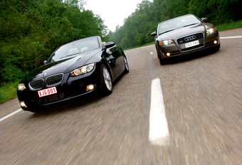 AUDI A4 3.0 TDI CABRIO • BMW 330d CABRIO : Andere elementen #1