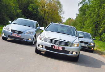 BMW 320d • LEXUS IS 220d • MERCEDES C 220 CDI : Zakelijk belang #1