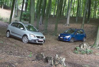 SUZUKI SX4 1.6 DDiS • VW CROSSGOLF 1.9 TDI : AL-SUV's #1